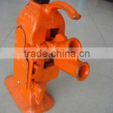 5T rack type track jack,mechanical track jacks,small lifting jacks