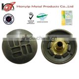 Honyip brand vintage alloy buttons/brand name buttons from China