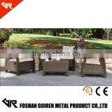 GR-R61053 2016 Patio Mosaic Tile Metal Garden Table And Chair Cheap Outdoor Cast Iron Garden Furniture                                                                         Quality Choice