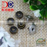 Hot Selling Metal Rivet Nut Leather Button Rivets,Custom Jeans Rivet for Jeans Wear