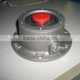 Aluminum Hub cap for America heavy duty truck and America trailer parts low price and good quality 343-4009