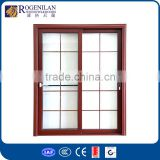 ROGENILAN 80# aluminum frame lowes french doors exterior metal french doors with side panels
