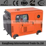 5kw chinese soundproof home generator with CE certificate