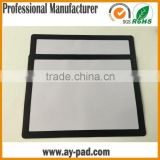AY Pvc Anti-slip Desk Pad ,Promotional Window Insert Photo Frame Counter mat With Rubber Base