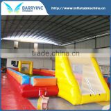 pvc inflatable soccer training dummy for inflatable sports games