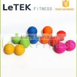 6.5x12.6cm Deep Tissue Double Rubber Lacrosse Ball Body Massage Peanut Ball                                                                         Quality Choice