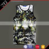 OEM ODM Custom cool sublimation design tank top beaded sleeveless vest design chiffon shirt chiffon vest