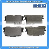 auto spare parts chassis parts Brake system brake pads for chery Cross B14 (OEM B14-3502080)