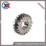 iron cast casting gear wheel, spur gears made in China,cast iron foundry gear wheel for agricultural machine