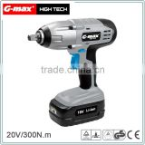 G-max 1300mAh Li-ion Battery Cordless Impact Wrench GHT-CIW20