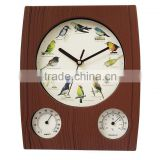 Cuckoo Clock Weather Station Wall Clock With Temperature YZ-8961