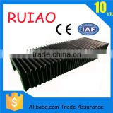 fabric flexible accordion linear rail cover bellows cover