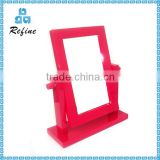 Wooden Small Size Table Mirror Stand Wholesale