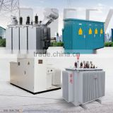 3 three phase oil type immersed electrical 1000kva distribution power transformers 11kv to 0.4kv voltage
