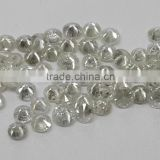 2.5-2.7mm 1ct Lot I Clarity F Color Natural Loose Brilliant Cut Diamond Non-treated