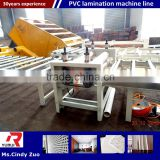 pvc lamination film Machine with low invest high profit/new type gypsum ceiling board production machinery