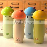 Colorful Super cute Mushroom Cartoon Stainless Steel Thermos Water Bottle for Kids thermos cup Traveling Mug 9.0oz