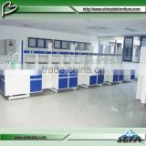 C-Frame structure school dental laboratory furniture hydrochloric acid resistant lab bench tables