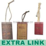 High-end Kraft Paper Printed Hangtags With Thick String (We Supply Factory Price)