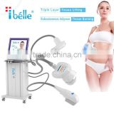 2000 ShotsPortable HIFU Beauty Machine HIFU For 0.1-2J Facial For Body Wrinkles Removal