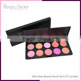 2016 Hot waterproof Blusher 10 in 1 Cosmetics Make up Blush Makeup Powder Blusher Palette