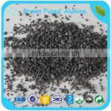 Brown Aluminum Oxide / Brown Corundum / Brown Fused Alumina For Grinding High Carbon Steel