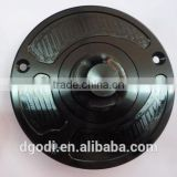 aluminum end cap as motorcycle fuel tank cover