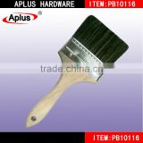 High Standard free art supply samples APLUS PB07116 wooden handle bristle purdy paint brush wholesale