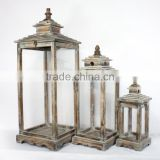 New Style Wooden Candle Lantern Decor Personalized Outdoor Hanging Lanterns