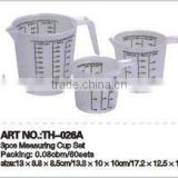 PP measuring cup, PP cup, plastic cup