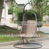 pe rattan hanging chair outdoor furniture