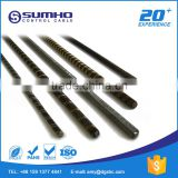 Stainless steel material and flexible structure flat cable