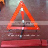 Roadway Safety--Foldable Warning Triangle