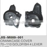 Motorcycle spare parts and accessories motorcycle crankcase cover for 70-110 GOLDFISH 4 LEVER LH FR