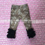 Persnickety Children Clothes baby girl triple fuller ruffles icing pants baby leopard leggings