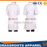 Custom logo design lab coat unisex solid Color nurse hospital medical uniforms lab coat designs