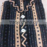 Rajasthani Block Printed Mens Cotton Kurtas