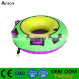 Cheap durable inflatable snow board inflatable snow tube inflatable ski circle made in China