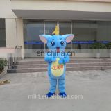 China hot sale cosplay cartoon adult costume blue stitch mascot costume