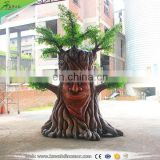 KAWAH Kids Attraction Interactive Animated Animatronic Talking Tree For Sale