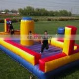 inflatable bungee shoot game