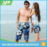 Guangzhou manufacturer mens swimwear wholesale floral all over print men's swim shorts