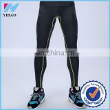 Yihao Compression tights gym fitness professional sports men pants high elasticity running joggers fit tights leggings