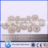Supply the new manual nail bead bead embroidery wedding wedding dresses Crystal claw drilling accessories The bride wearing Spot