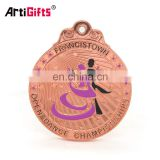 Metal custom trophies award plaque irish dance medal