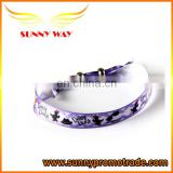 Printed Ribbon Bracelet Wristband