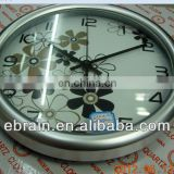 newest design wall clock with high quality,modern design round wall clock