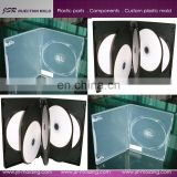 Supply high quality and low price customized plastic DVD box/CD box/MD box gift box and making mould