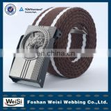 special design hot selling men braided elastic stretch belt