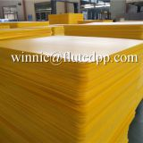 Fluted pp plastic layer pads